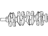 Jeep Patriot Crankshaft - 4884563AC