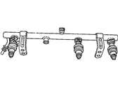 Chrysler Voyager Fuel Rail - 4861387AC