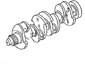 Jeep Patriot Crankshaft - 68034265AA