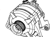 Ram Alternator - 56028697AP