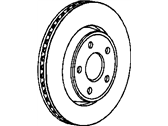 Jeep Brake Disc - 52124762AC