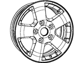 Dodge Spare Wheel - 1DZ10CDMAC