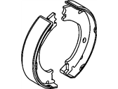 Ram 1500 Parking Brake Shoe - 68001472AB