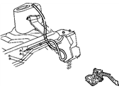 Chrysler Town & Country Hood Latch - 4717515AB