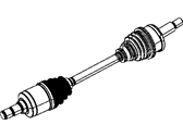 Dodge Charger Axle Shaft - 4578600AA