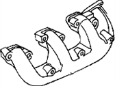 Chrysler Grand Voyager Exhaust Manifold - 4448009