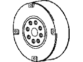 Chrysler Crankshaft Pulley - 4792989AA