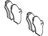 2005 Dodge Sprinter 3500 Brake Pad - 5103550BB