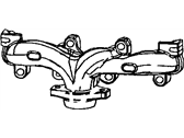 Chrysler Exhaust Manifold - 53030809AD