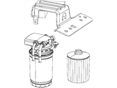 Chrysler Fuel Filter - 68105665AA