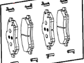 Chrysler Town & Country Brake Pad - 2AMV3163AA