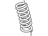 Chrysler 300 Coil Springs - 5168900AA