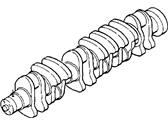 Dodge D350 Crankshaft - 4429632