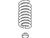 Dodge Ram 3500 Coil Springs - 52113977AA