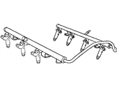 Chrysler Aspen Fuel Rail - 53032712AD