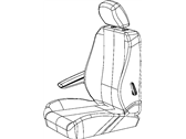 Ram C/V Seat Cover - 1UR71BD1AA