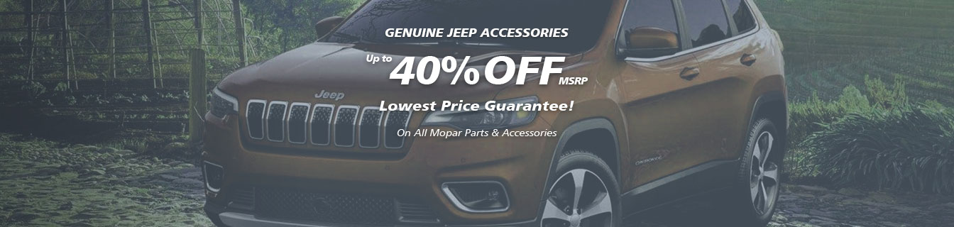 Genuine Grand Cherokee accessories, Guaranteed lowest prices