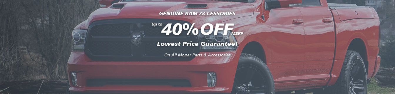 Genuine Ram accessories, Guaranteed lowest prices